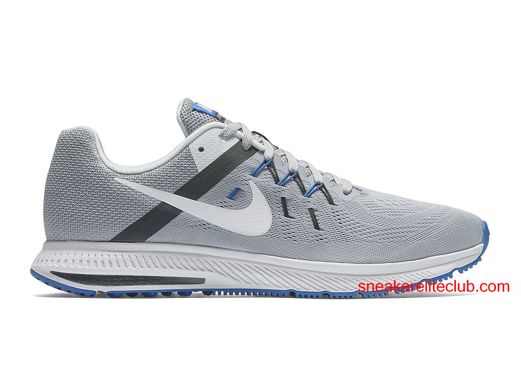 purchase cheap a9848 f624e ... new arrivals chaussures running nike zoom winflo 2 prix pas cher pour  homme gris blanc noir